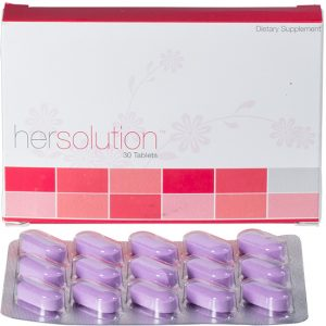 Hersolution Box with pills