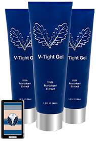 Three gels of V-Tight